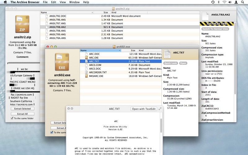application to open swf file on mac