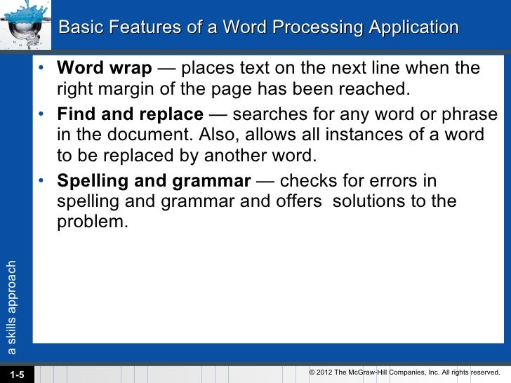 list of word processing applications