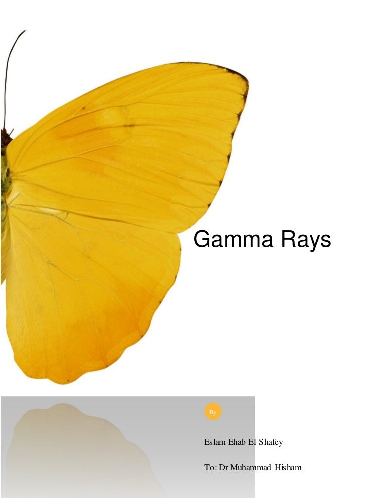 gamma rays uses and applications