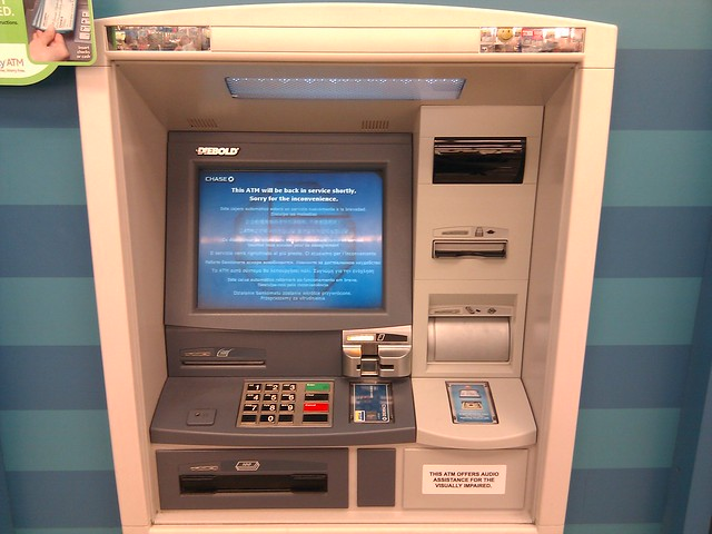application for atm machine installation