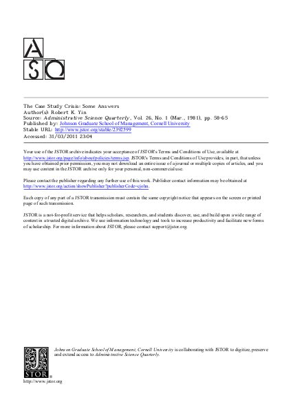 applications of case study research yin 2012 pdf