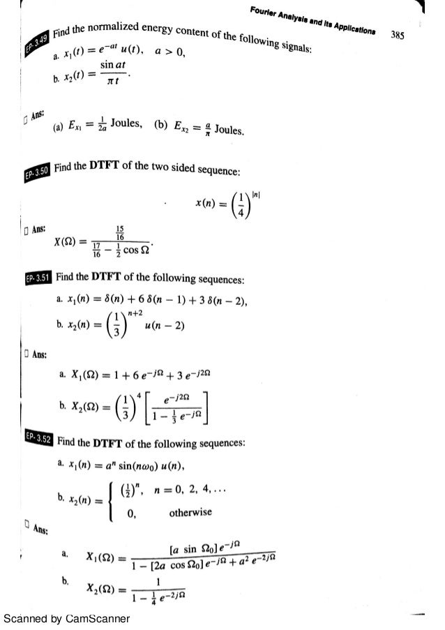 fourier series and its applications