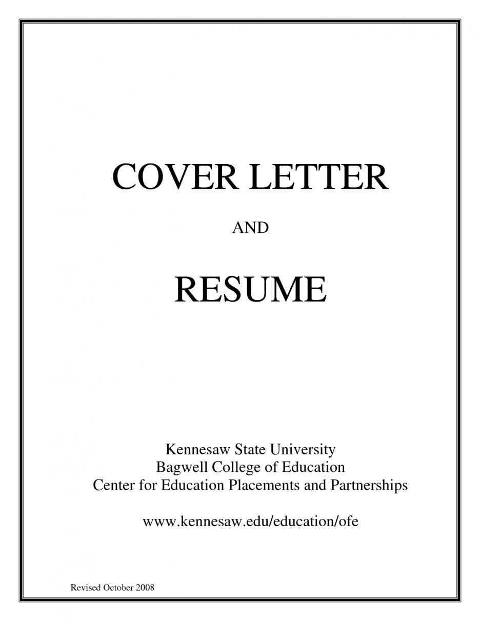 cover letter title for job application