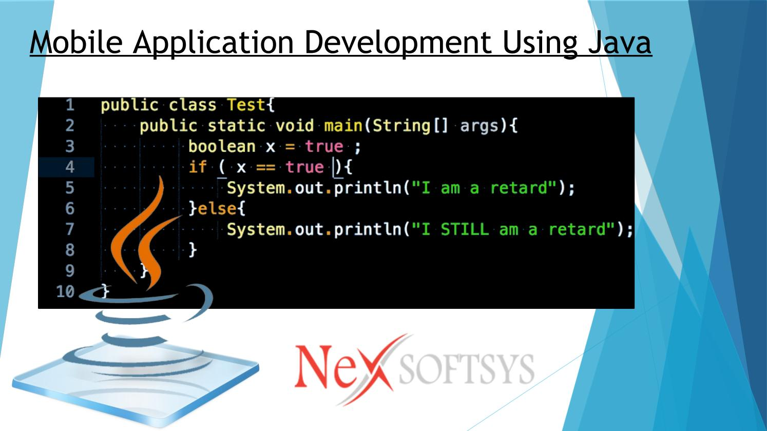 how to develop mobile application in java using eclipse