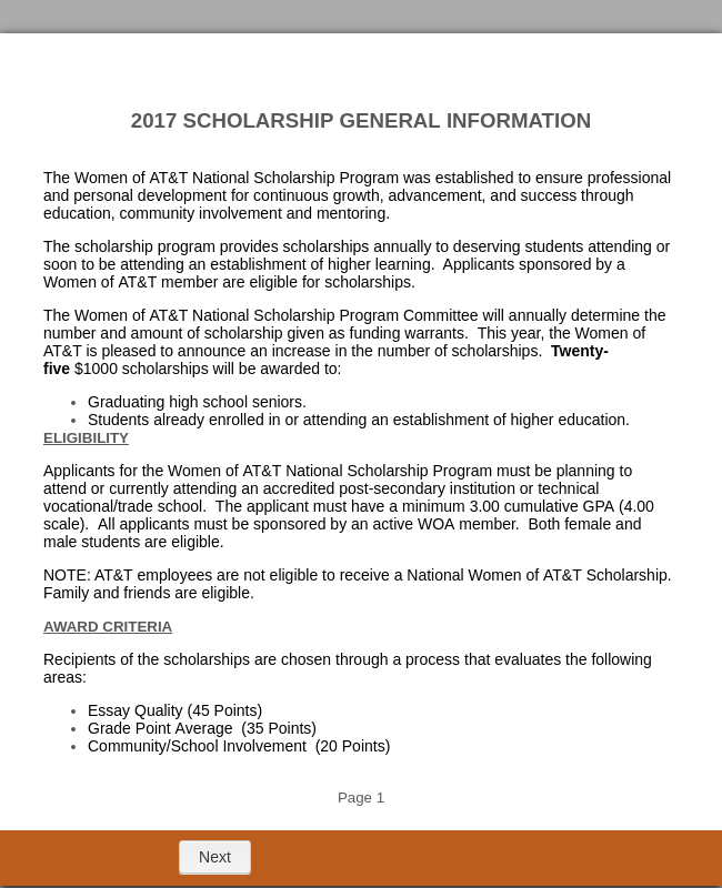 letter of application for a course