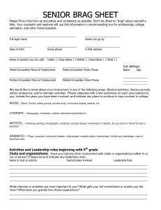 application letter for admission to senior secondary school