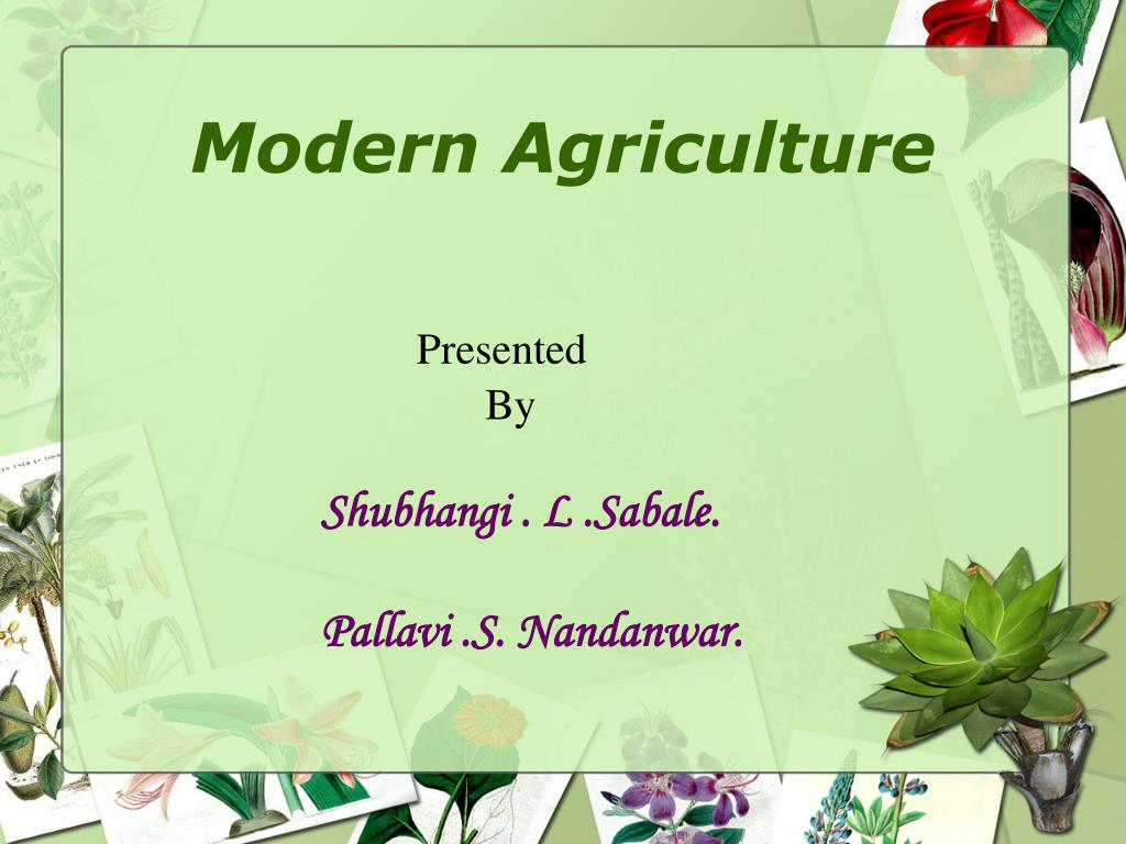 application of genetic engineering in agriculture ppt