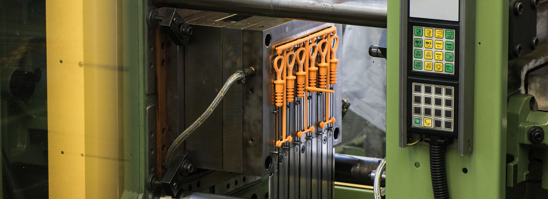 application of injection moulding process