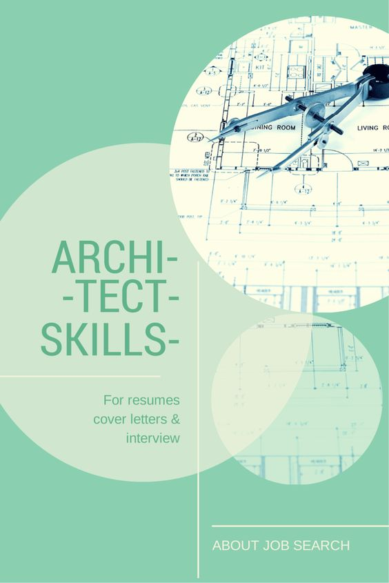 cover letter for architect job application