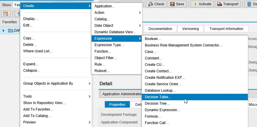 how to create web based database application