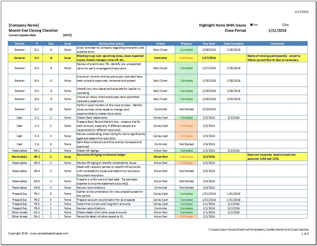 spreadsheet applications in reconciling and monitoring financial accounts